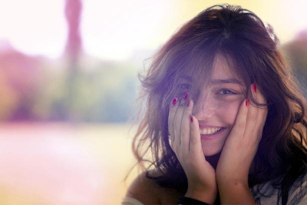 mulher-sorrindo